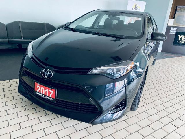 2017 Toyota Corolla LE AUTO SUNROOF ALLOY CERTIFIED $11999