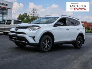 Used 2018 Toyota RAV4 Hybrid SE for sale in Ancaster, ON