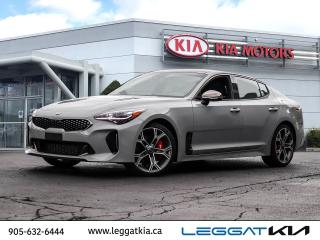 Used 2020 Kia Stinger GT Limited w/Black Interior GT LIMITED DEMO/ WINTER TIRES INCLUDED/NAV/NAPPA LEATHER/SUNROOF/PREMIUM SOUND/UVO INTELLIGENCE/BLIN for sale in Burlington, ON