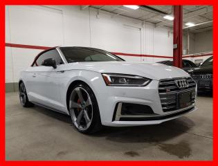 Used 2019 Audi S5 Cabriolet TECHNIK HUD ADVANCED DRIVING ASSIST RED INT for sale in Vaughan, ON