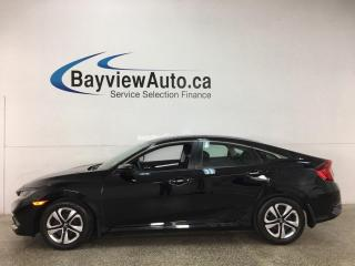 Used 2019 Honda Civic LX - AUTO! A/C! HTD SEATS! REV CAM! FULL PWR GROUP! SUPER CLEAN! for sale in Belleville, ON