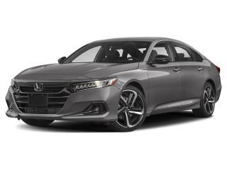 New 2021 Honda Accord Sedan SE for sale in Timmins, ON