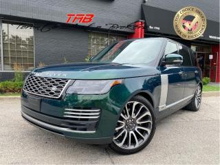 Used 2019 Land Rover Range Rover 5.0L SC AUTOBIOGRAPHY I LWB I 22 IN WHEELS for sale in Vaughan, ON