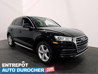 Used 2018 Audi Q5 PROGRESSIV AWD NAVIG.- TOIT OUVRANT - CUIR - A/C for sale in Laval, QC