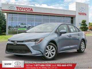 New 2021 Toyota Corolla LE for sale in Whitby, ON
