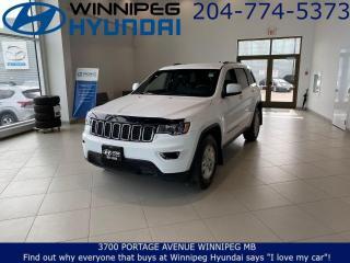 Used 2018 Jeep Grand Cherokee LAREDO - Rear park assist, Backup camera, Bluetooth for sale in Winnipeg, MB