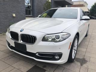 Used 2014 BMW 5 Series Sdn 528i xDrive AWD for sale in Nobleton, ON