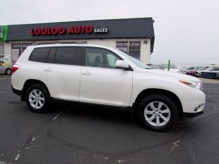Used 2013 Toyota Highlander Limited 4WD 7 Passenger Camera Bluetooth Certified for sale in Milton, ON