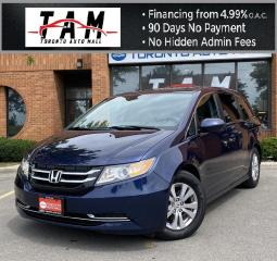 Used 2016 Honda Odyssey EX-L NAVI Sunroof Leather Back-Up Sensor Clean Carfax Service History for sale in North York, ON