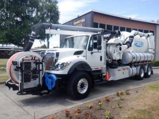 Used 2012 International 7500 Workstar Vacuum Truck Air Brakes Diesel for sale in Burnaby, BC
