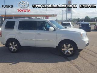 Used 2012 Honda Pilot 4WD 4dr Touring for sale in Steinbach, MB
