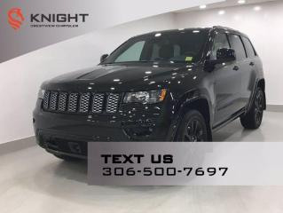 New 2021 Jeep Grand Cherokee Altitude | Leather | Sunroof | Navigation | for sale in Regina, SK
