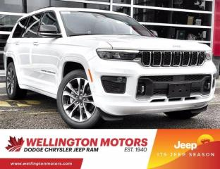 New 2021 Jeep Grand Cherokee L Overland for sale in Guelph, ON