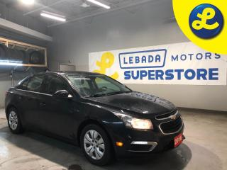 Used 2016 Chevrolet Cruze * Back Up Camera * Cruise Control * Steering Wheel Controls * Hands Free Calling * On Star * AM/FM/SXM/USB/Aux/Bluetooth * Automatic Headlights * Keyl for sale in Cambridge, ON
