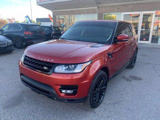 Used 2014 Land Rover Range Rover Sport V8 SUPERCHARGED NAVI BCAME for sale in Calgary, AB