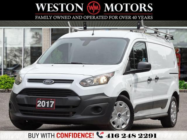 2017 Ford Transit Connect *XL*ROOF RACK*DUAL DOORS*SHELVING!!*