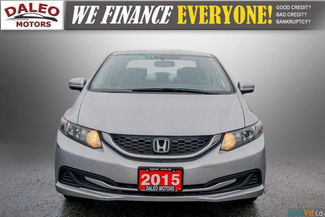 2015 Honda Civic LX / BUCKET SEATS / HEATED SEATS / BACKUP CAM / Photo3