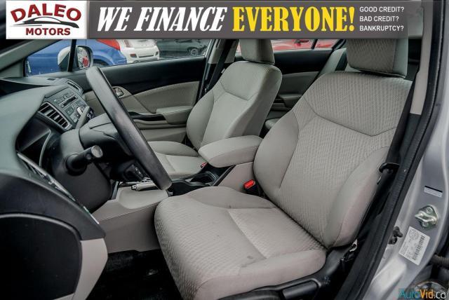 2015 Honda Civic LX / BUCKET SEATS / HEATED SEATS / BACKUP CAM / Photo11