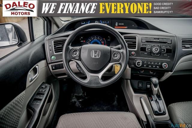 2015 Honda Civic LX / BUCKET SEATS / HEATED SEATS / BACKUP CAM / Photo14