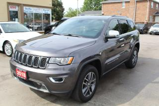 Used 2018 Jeep Grand Cherokee Limited for sale in Brampton, ON