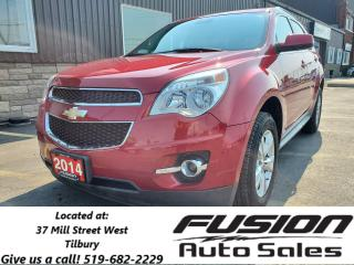 Used 2014 Chevrolet Equinox 2LT-SUNROOF-LEATHER-REAR CAMERA-PWR LIFTGATE for sale in Tilbury, ON