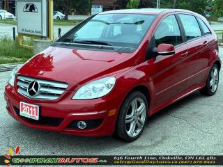 Used 2011 Mercedes-Benz B-Class B 200|SINGLE OWNER|LOW KM|NO ACCIDENT|CERTIFIED for sale in Oakville, ON