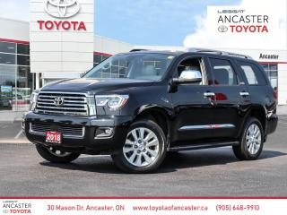 Used 2018 Toyota Sequoia Platinum 5.7L V8 for sale in Ancaster, ON