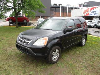 Used 2003 Honda CR-V EX ~ LEATHER ~ SUNROOF for sale in Toronto, ON