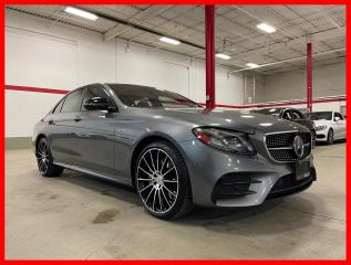 Used 2018 Mercedes-Benz E-Class E43 AMG 4MATIC NIGHT AMG DRIVER DISTRONIC HUD PREMIUM for sale in Vaughan, ON