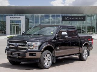Used 2019 Ford F-150 King Ranch Fully Loaded 600A | Panoramic Roof for sale in Winnipeg, MB
