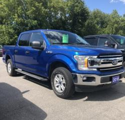 Used 2018 Ford F-150 4x4 - Supercrew XLT - 145 WB for sale in Brockville, ON