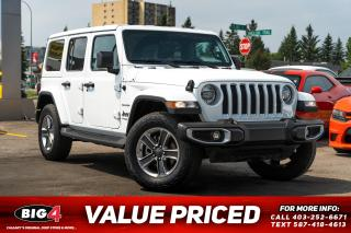 Used 2020 Jeep Wrangler Unlimited Sahara for sale in Calgary, AB
