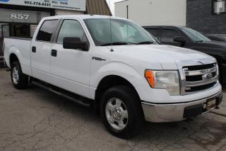 Used 2013 Ford F-150 XLT 4WD SuperCrew 5.0L for sale in Mississauga, ON