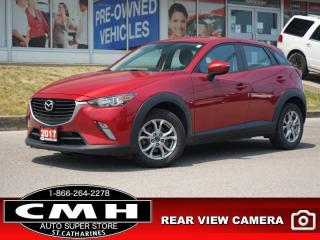 Used 2017 Mazda CX-3 GS  CAM RAIN-SENS HTD-SEATS 16-AL for sale in St. Catharines, ON