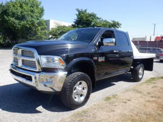 Used 2016 RAM 2500 Flat Deck 9.5 foot Laramie Crew Cab SWB 4WD for sale in Burnaby, BC