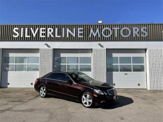 Used 2011 Mercedes-Benz E-Class E 350 Luxury 4MATIC for sale in Winnipeg, MB