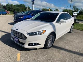 Used 2015 Ford Fusion Titanium for sale in New Hamburg, ON