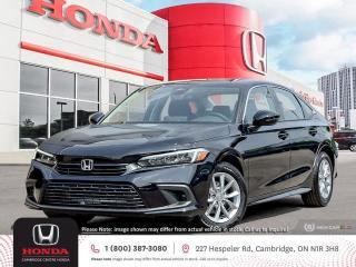 New 2022 Honda Civic EX APPLE CARPLAY™ & ANDROID AUTO™ | HONDA SENSING TECHNOLOGIES | POWER SUNROOF for sale in Cambridge, ON