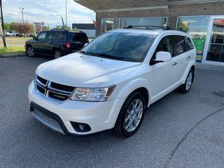 Used 2014 Dodge Journey R/T LEATHER NAVI BCAMERA DVD for sale in Calgary, AB