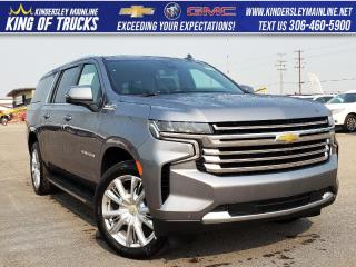 New 2021 Chevrolet Suburban High Country for sale in Kindersley, SK