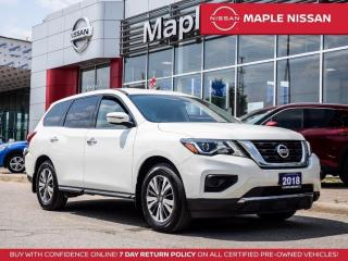 Used 2018 Nissan Pathfinder S Bluetooth Backup Camera Alloys 7 Seater for sale in Maple, ON