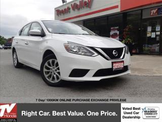 Used 2017 Nissan Sentra 1.8 SV for sale in Peterborough, ON