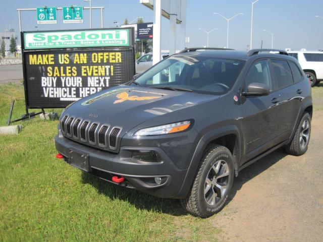 2017 Jeep Cherokee Make us an offer