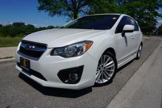 Used 2012 Subaru Impreza 5 SPD MANUAL / HATCHBACK / CLEAN CARFAX /LOCAL CAR for sale in Etobicoke, ON