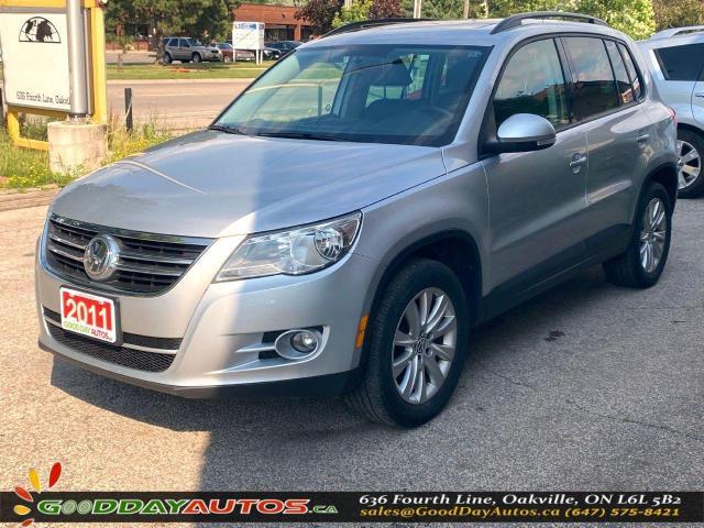 2011 Volkswagen Tiguan Comfortline LOW KM NO ACCIDENT AWD CERTIFIED