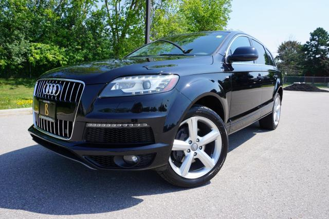 2012 Audi Q7 1 OWNER / S-LINE / WELL SERVICED /IMMACULATE SHAPE