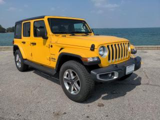 Used 2020 Jeep Wrangler Unlimited Sahara Low K's 4x4 Heated Seats Rear Cam for sale in Belle River, ON