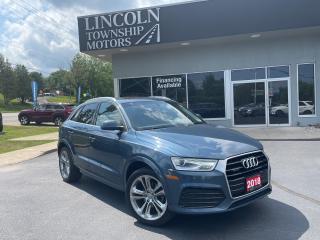 Used 2018 Audi Q3 Progressiv for sale in Beamsville, ON