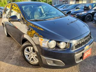 Used 2012 Chevrolet Sonic LT/1-OWNER/AUTO/REMOTE STARER/BLUETOOTH/ALLOYS for sale in Scarborough, ON