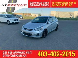 Used 2014 Hyundai Accent GLI $0 DOWN - EVERYONE APPROVED!! for sale in Calgary, AB